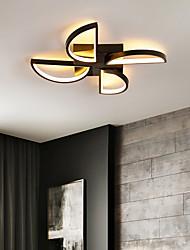 cheap -LED Ceiling Light Black Gold Modern 46/52 cm Geometric Shapes Flush Mount Lights Aluminum Artistic Style Stylish Painted Finishes Artistic 110-120V 220-240V
