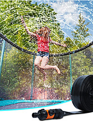 cheap -Trampoline Sprinkler for Kids - Outdoor Trampoline Water Sprinkler for Kids and Adults, Trampoline Accessories Sprinkler 39ft Long for Water Play, Games, and Summer Fun in Yards