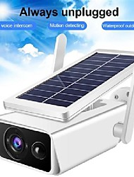 cheap -1080p solar camera battery powered wifi ip camera surveillance security camera weatherproof ip66 pir alarm night vision icsee