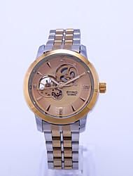 cheap -beino waterproof mechanical watch men's watch luminous hollow automatic winding steel band watch