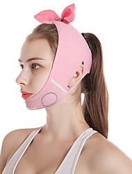 cheap -Face-lifting Mask V-face Bandage Beauty Instrument Double Chin Law Pattern Lifting And Tightening Cute Bow Tie Mask