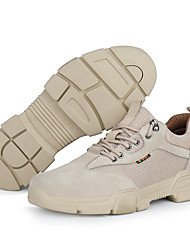 cheap -Unisex Trainers Athletic Shoes Classic Chinoiserie Office & Career Safety Shoes Suede Non-slipping Wear Proof Booties / Ankle Boots Beige Spring Summer