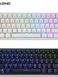 cheap -skyloong mini portable 60% mechanical keyboard wireless bluetooth gateron mx rgb backlight gaming keyboard gk61 sk61 for desktop