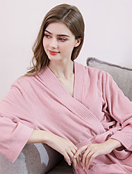 cheap -Women's Knitted Bathrobe,Lightweight and Comfortable Style Suitable for Home Wear in Spring and Summer