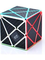cheap -QiYi Phantom axis with Black Carbon Fiber Stickers Magic Cube stickerless Qiyi axis Cube Carbon Fiber Sticker Twisty Puzzle