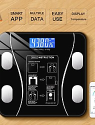 cheap -Bluetooth Body Fat Scale BMI Scales Smart Wireless Digital Bathroom Weight Scale Body Composition Analyzer Weighing Scale