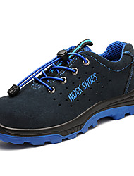 cheap -Unisex Trainers Athletic Shoes Sporty Classic Chinoiserie Office & Career Safety Shoes Suede Breathable Non-slipping Wear Proof Booties / Ankle Boots Royal Blue Spring Summer