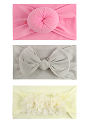cheap -european and american new style children's donut headband/chiffon flower headband/bow knot headband headband hair accessories