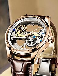cheap -ai lang's blast automatic hollow mechanical watch waterproof men's watch