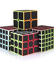cheap -MoYu Speed Cube Set2x2 3x3 4x4 5x5 Carbon Fiber Cube Bundle for KidsSmooth Original Cube