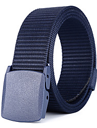 cheap -Belt Men's Military Tactical Belt Wearable Quick Dry Breathable for Solid Colored Nylon Fall Spring Summer