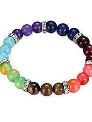 cheap -Women's Resin Bead Bracelet Classic Flower Fashion Alloy Bracelet Jewelry Rainbow For Anniversary Date Festival