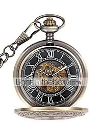 cheap -pocket watch flip vintage antique classic carved roman hollow automatic mechanical pocket watch gift for men women(color : gold, size : 4.7x1.5cm)
