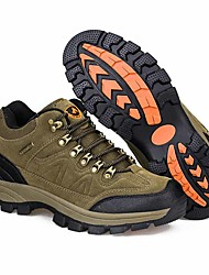 cheap -Men's Hiking Shoes Waterproof Breathable Non-Skid Comfortable High-Top Camping / Hiking Hunting Fishing Autumn / Fall Winter Spring Army Green Brown