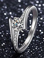 cheap -moissanite adjustable ring one carat moissanite ring ring