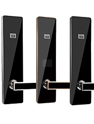 cheap -Hotel rfid card system sliding electronic digital key smart hotel door lock appartment door lock with free software hotel lock