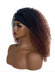 cheap -cross-border e-commerce chemical fiber hair band wig european and american fashion small volume gradient color wig wig factory wholesale