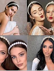 cheap -pearl headband princess hair headdress super fairy  bridal hair accessories retro headband women