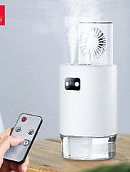 cheap -xundd adjustable fan humidifier 2in1 usb 1000ml capacity 4000mah summer cooler quiet fan with smart remote controller