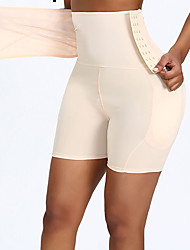 cheap -Large-size High-waisted Abdomen Hip-lifting Pants Fake Ass Side-breasted Flat-angle Plump Hips and Hips