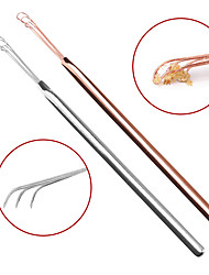 cheap -Ear Pick Cleaner Ear Pick Ear Health Care Cleaning Stainless Steel Ear Pick Cleaner Portable Ear Pick Three Chain Ear Pick Tool