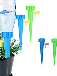 cheap -8pcs Lazy Flower Waterer Adjustable Water Self-Watering Device Spikes Flower Plant Garden Watering Kit Drip Irrigation Tool