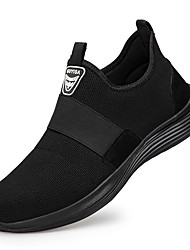 cheap -Unisex Trainers Athletic Shoes Sneakers Sporty Classic Chinoiserie Office & Career Safety Shoes Suede Tissage Volant Breathable Non-slipping Wear Proof Booties / Ankle Boots Black Spring Summer