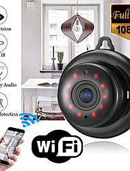 cheap -v380 mini wifi 1080p hd ip camera wireless cctv infrared night vision motion detection 2-way audio motion tracker home security