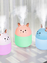 cheap -Usb Portable Air Humidifier Wireless Electric Humidifiers Diffuser Cool Mist Maker LED Night Lamp Cute Cat Air Purifier For Home Office Car