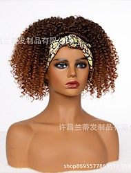 cheap -manufacturers supply  wig ladies gradient color headband wig headgear headband wig