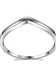 cheap -junxin chic 925 sterling silver chevron thumb ring specifically for the girls all, let her show unlimited scenery size 6