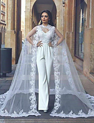 cheap -Sleeveless Elegant / Bridal Lycra Wedding / Party / Evening Women's Wrap With Appliques