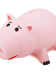 cheap -Piggy Bank / Money Bank Cute Pig 1 pcs Gift Home Decor Plastic For Kid's Adults' Boys and Girls