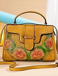 cheap -westal retro leather handbags rub color embossed bag handbags new 2020 messenger shoulder bag handbag