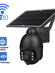 cheap -Indoor Outdoor monitoring WiFi and 4G Version monitoring ball camera support maximum 128GB SD card solar camera