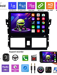 cheap -suitable for toyota vios android navigation integrated machine android mp5 player gps navigation reversing image vios