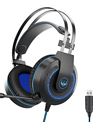 cheap -OVLENG GT65 Gaming Headset USB 3.5mm Audio Jack PS4 PS5 XBOX Ergonomic Design Retractable Stereo for Apple Samsung Huawei Xiaomi MI  PC Computer Gaming