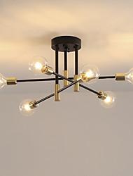 cheap -LED Pendant Light 120 cm Sputnik Design Chandelier Metal Artistic Style Sputnik Industrial Painted Finishes Artistic Nordic Style 110-120V 220-240V