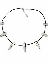 cheap -trushop avengers black panther cosplay choker necklace wakanda king t'challa pendant cosplay costume accessories silver