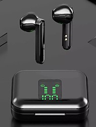 cheap -LITBest L12 Bluetooth 5.0 Earbuds Intelligent Voice Assistant Automatic Connection Touch Recognition True Wireless Earphones LED Battery Display Hifi Sound Quality Headset with Charging Compartment