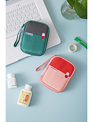 cheap -Emergency Kit Portable Travel Home Medicine Nylon Storage Bag Portable Small Medicine Bag Small Storage Bag Medicine Bag 15x12x3cm