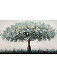 cheap -Mintura&reg Large Size Hand Painted Tree Oil Painting On Canvas Modern Abstract Landscape Art Wall Picture For Home Decoration (Rolled Canvas without Frame)