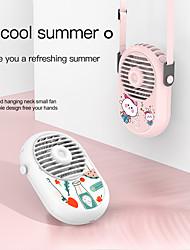 cheap -Portable Hand-held Neck-hanging Mini Charging Fan For Cute Girl Home Office Sports Mini Fan