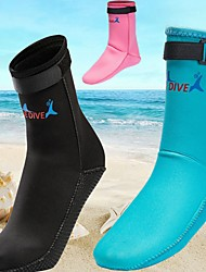 cheap -Bluedive Unisex Neoprene Boots Neoprene Diving Snorkeling Beach Watersports - for Adults