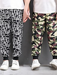 cheap -children's anti-mosquito pants, children's bloomers, air-conditioning pants, cotton silk, thin summer boys and girls pants, baby