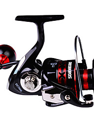 cheap -Fishing Reel Spinning Reel 5.2:1 Gear Ratio 3+1 Ball Bearings Light and Convenient for Sea Fishing / Fly Fishing / Lure Fishing