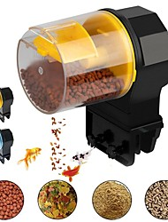cheap -Aquarium Automatic Fish Feeder Electrical Aquarium Fish Tank Auto Feeders With Timer Pet Feeding Dispenser