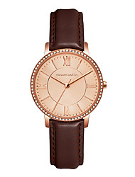 cheap -HANNA MARTIN simple diamond ladies watch waterproof casual roman numerals romantic mesh strap quartz watch