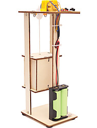 cheap -DIY Assembly Electric Elevator Toy Children Science Experiment Material Kits Toy Gift