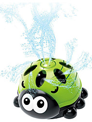 cheap -Water Sprinkler Toy for Kids and Toddlers - Summer Outdoor Lawn Backyard Water Toy - Rotatable Animal Shaped Bath Toy - Attaches to Garden Hose(Beetle Sprinkler Toy Green)